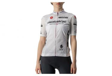 Maglia manica corta donna Castelli Giro 104 Competizione Bianca