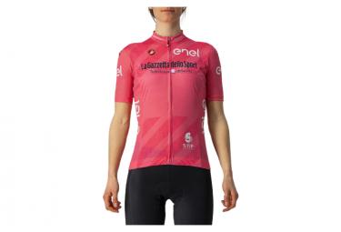 Maglia donna manica corta Castelli Giro 104 Competizione Rosa