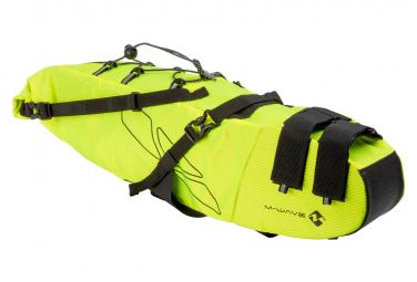 M Wave Rough Ride L 11L Saddle Bag Neon Yellow