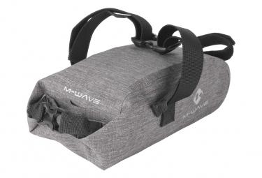 M Wave Suburban Saddle Bag 2.5L Grey