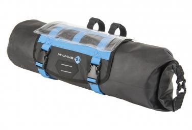 M Wave Rough Ride Front 10L Handlebar Bag Black / Blue
