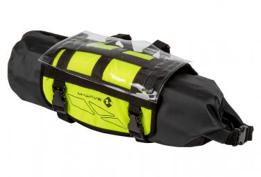 M Wave Rough Ride Front 10L Handlebar Bag Black / Yellow
