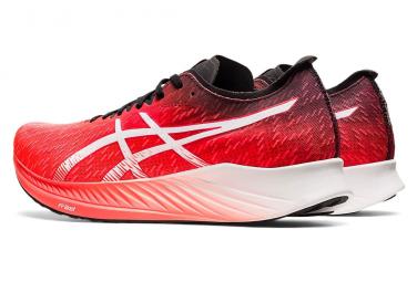 Asics Magic Speed Running Shoes Red Black Mens