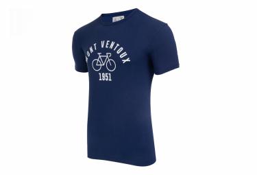 T-Shirt Manches Courtes LeBram & Sport D'Epoque Mont Ventoux Bleu Foncé