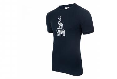 Maglietta a maniche corte LeBram Deer blu scuro