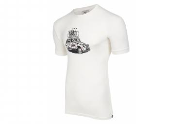 Maglietta a maniche corte LeBram Dodoche Marshmallow / Bianca