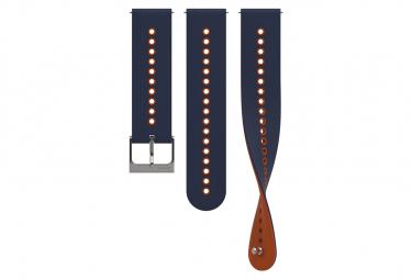 Bracelet Silicone Suunto Urban 4 22 mm S+M Granite Blue Orange