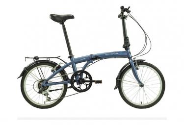 Vélo Pliant Dahon SUV D6 Panaché 6V Bleu 2020