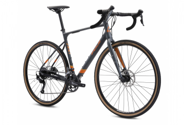 Bicicleta Gravel Fuji Jari 2.5 Shimano Claris 8S 700mm Gris Satinado 2021