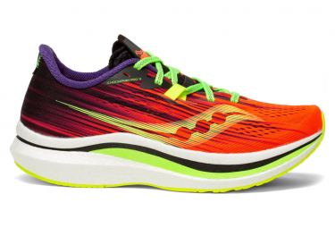 Chaussures de Running Femme Saucony Endorphin Pro 2 ViziPro Orange / Multi-couleur