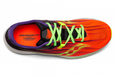 Chaussures de Running Saucony Endorphin Pro 2 ViziPro Orange / Multi-couleur