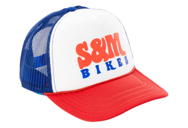 Casquette S and M Keep On Trucking Rouge / Blanc / Bleu