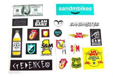 S and M Assorted Sticker Pack