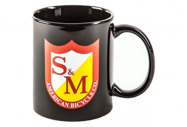 Mug S and M Coffee Mug Noir