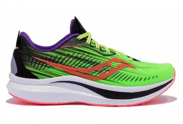 Chaussures de Running Saucony Endorphin Speed 2 ViziPro Vert / Multi-couleur