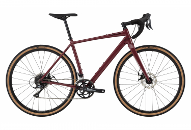 Gravel Bike Cannondale Topstone 3 Shimano Sora 9V 700 mm Cherry Purple Red 2021