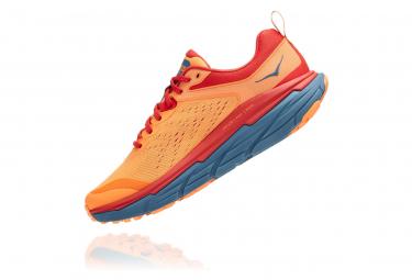 Chaussures de Trail Hoka One One Challenger Atr 6 Orange / Bleu