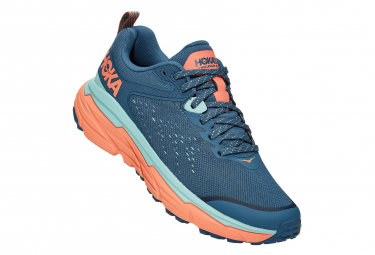Chaussures de Trail Femme Hoka One One Challenger Atr 6 Bleu / Orange