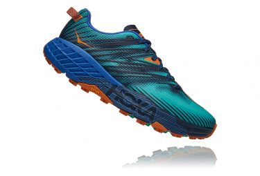Chaussures de Trail Hoka One One Speedgoat4 Bleu / Bleu