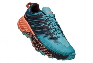 Chaussures de Trail Femme Hoka One One Speedgoat4 Bleu / Orange