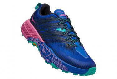 Chaussures de Trail Femme Hoka One One Speedgoat4 Rose / Vert