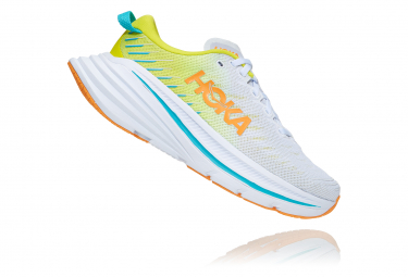 Chaussures de Running Femme Hoka One One Bondi X Limited Edition Blanc / Jaune