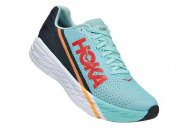 Chaussures de Running Hoka One One Rocket X Bleu / Rouge