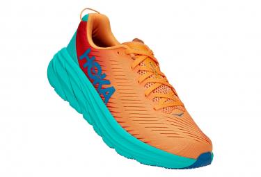 Hoka Rincon 3 Orange Blue Mens Running Shoes