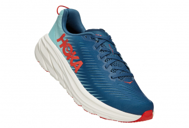 Zapatillas Hoka One One Rincon3 para Hombre Azul / Rojo