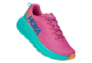Chaussures de Running Femme Hoka One One Rincon3 Rose / Vert