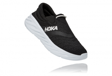 Hoka ORA Recovery Shoe 2 Noir Blanc Femme