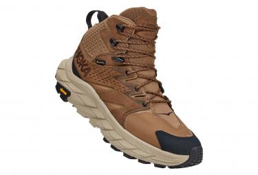 Chaussures de Randonnée Hoka Anacapa Mid GTX Marron Homme
