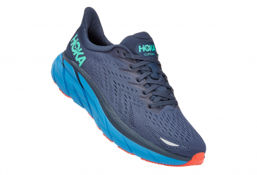 Hoka Clifton 8 Blue Running Shoes For Men