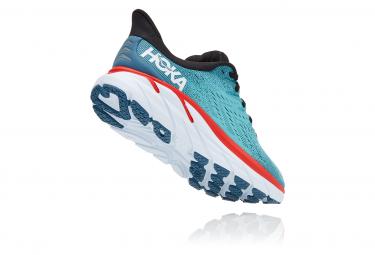 Chaussures de Running Hoka One One Clifton 8 Bleu / Rouge