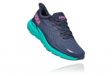 Chaussures de Running Femme Hoka One One Clifton 8 Bleu / Bleu