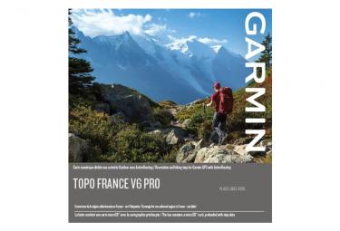 Cartographie Numérique Garmin France v6 Pro Montagne