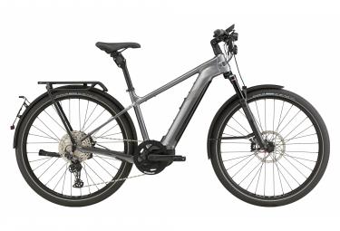 Bicicleta Ciudad Eléctrica Cannondale Tesoro Neo X Speed 700 Gris