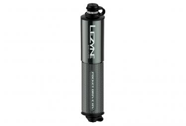 Pompa manuale ad alta tensione Lezyne Pocket Drive (max 90 psi / 6,2 bar) Lite Grey