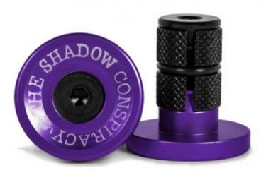The Shadow Company Deadbolt Bar End Purple