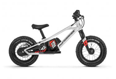 Mondraker Grommy 12 e-Balance Bike 80 Wh 12'' Silver Black 2022 3 - 5 Years Old