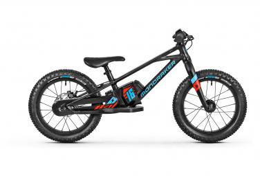 Mondraker Grommy 16 e-Balance Bike 80 Wh 16'' Black Blue 2022 5 - 8 Years Old