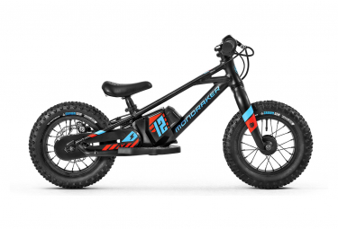 Mondraker Grommy 12 e-Balance Bike 80 Wh 12'' Black Blue 2022 3 - 5 Years Old
