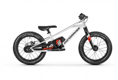 Mondraker Grommy 16 e-Balance Bike 80 Wh 16'' Silver Black 2022 5 - 8 Years Old