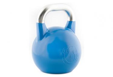 Kettlebell GorillaGrip Competition 12 kg Bleu