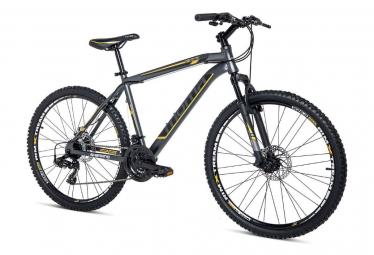 Moma Bikes Bicicleta Montaña SHIMANO GTT 26'Alu, 24V, Doble Freno Disco, Susp. Delant. (Varias Tallas)