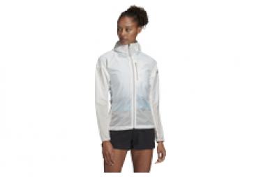 Veste Coupe-Vent Femme adidas Terrex Agravic Windweave Blanc