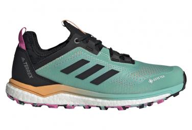 Chaussures de Trail Femme adidas running Terrex Agravic Flow GTX Vert / Rose