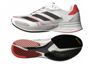 Zapatillas adidas running adizero Adios 6 para Hombre Blanco / Rojo