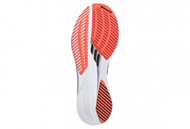 Chaussures de Running adidas running adizero Boston 10 Blanc / Rouge