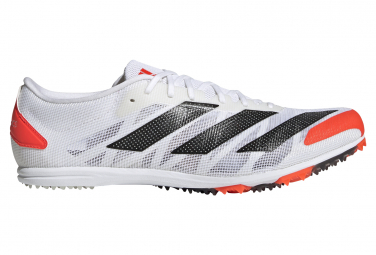 Adidas adizero XCS Laufschuhe Weiß / Rot Unisex